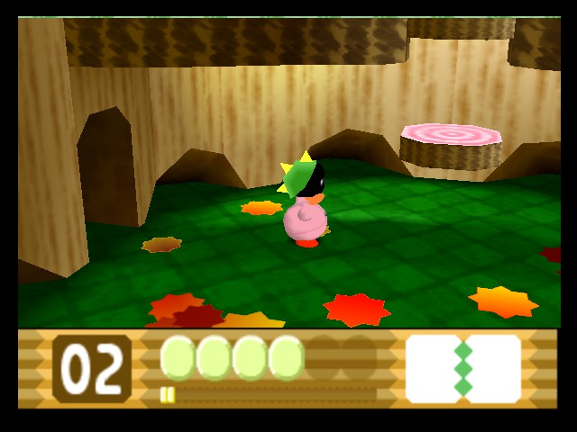 Kirby 64 - The Crystal Shards - Level  - Needles hurt! - User Screenshot